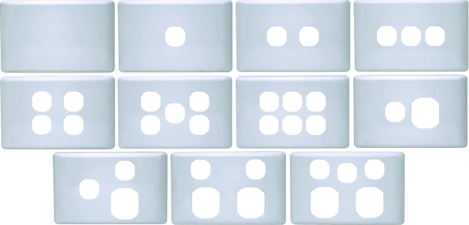 K Series Plastic Cover Plates Plastic Cover Plates Australia