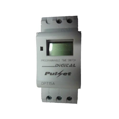 7 Day Digital Programmable Time Clock