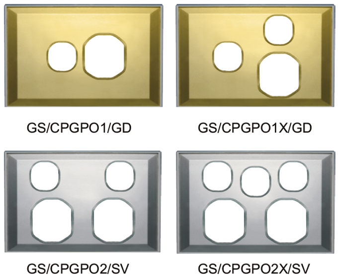 G Series Power Point Cover Plates