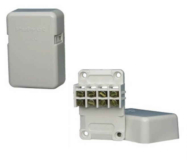 3 and 4 Terminal Mini Junction Box With Connectors