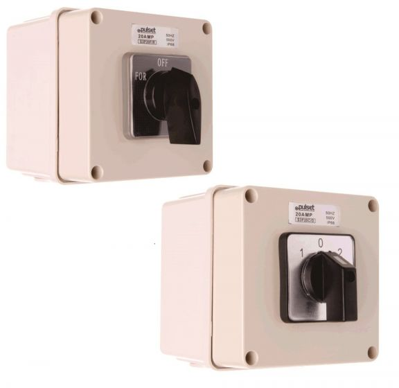 Three Phase Square Changeover Switch