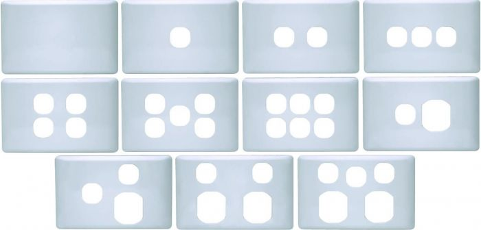 K Series Plastic Cover Plates