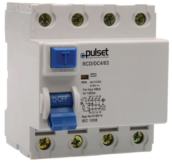 A-Type 4 Pole RCD 30mA (NZ Market)