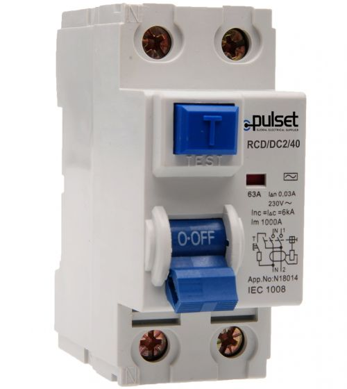 A-Type 2 Pole RCD 30mA (NZ Market)