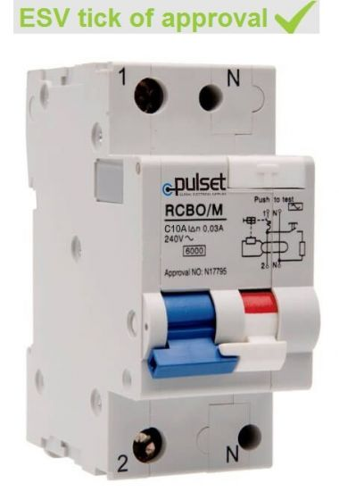 2 Pole MCB/RCD Mechanical Combo