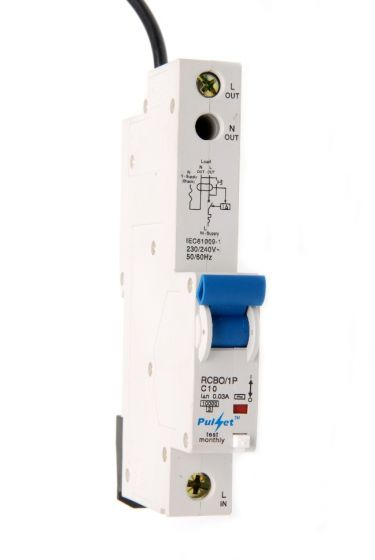 1 Pole MCB/RCD Mechanical Combination