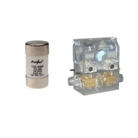 FUSE HOLDER100a+CARTRIDGE 80a