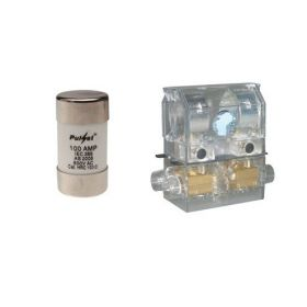 SERVICE FUSE HOLDER 100A + CARTRIDGE 100A LOADED