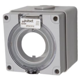 Three Phase 5 Round Pin Socket