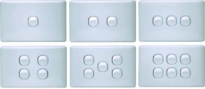 K Series Loaded Switch Plates